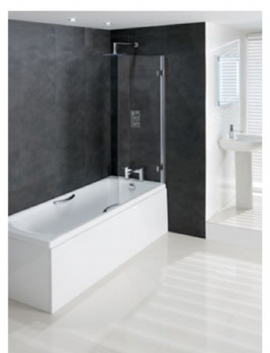 Eastbrook Volente 6mm Hinge Bath Screen 850x1500 58.702